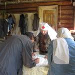 Нуждающиеся семьи села Мазунино  вновь получили материальную поддержку  от Дома матери «Надежда» г.Сарапул