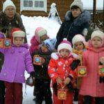 Дети Детского Дома побывали на службе в Серафимовский храме.