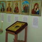 В Сарапульской городской больнице отслужен молебен перед образом святителя Николая Чудотворца